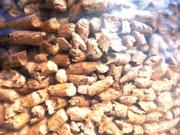 Пеллеты древесные светло-серые