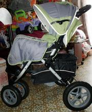 Продаю прогулочную коляску Capella S-901 с надувными колесами (б/у),  у