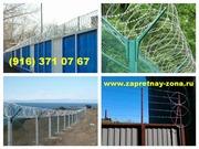 Спиральный барьер безопасности Егоза во Владимире
